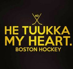 Tuukka Rask is an angel sent from heaven ;) #Bruins #Humor