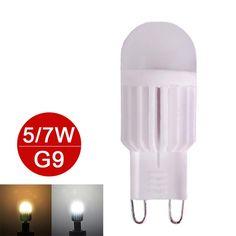 Mini G9 LED Lamp 5W 7W LED G9 Light 220V LED Bulb High Power Chandelier Lampada LED Lamps Dimmable Replace Halogen 6pcs/lot