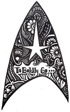 Starfleet insignia tattoo idea.