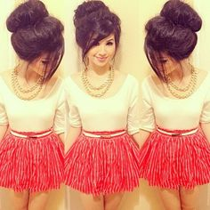 Love it and i especially wish i could make my hair look like this.