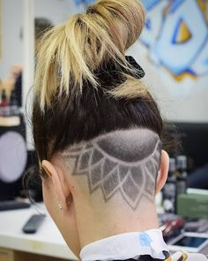 UNFLOWER DESIGNED  #buzzcut #haircuts #nastybarbers #faded #barbers #barbergang#yerevan #andis #barbersince98 #barberworld  #thebarberpost