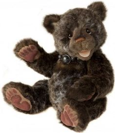 """Charlie Bears """"Chapman"""" by Isabelle Lee   Plush Bear from the Giggler range of open mouthed bears February 2014"""