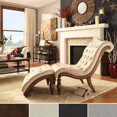 Relax in style with this graceful brown leather Bellagio chaise lounge. A perfect addition to the living room or bedroom, it features a sleek tufted button back design and a separate ottoman for superb adjustability and outstanding comfort.