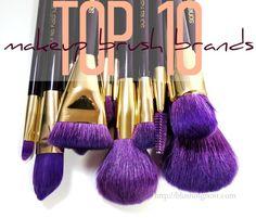 The best brands for Makeup Brushes! Drugstore & Designer. via @blushingnoir
