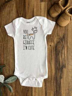 Funny Baby Gifts, Funny Babies, Cute Babies, Baby Shirts, Onesies, Baby Onesie, Boy First Birthday, Baby Time, Cute Baby Clothes