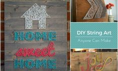 String art projects anyone can make