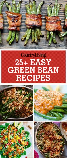 28 Easy Green Bean Recipes for Thanksgiving - How to Cook Green Beans Thanksgiving Green Beans, Thanksgiving Recipes, Fall Recipes, Good Green Bean Recipe, Easy Green Bean Recipes, Side Dish Recipes, Vegetable Recipes, Side Dishes, Cooking Vegetables