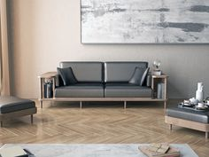 Handcrafted from high quality materials, a scaffold is a comfortable sofa with a surrounding wooden frame which can be used as a bookshelf or as a division, showing the best of the high-end joinery.The 100% solid wood structure is the focal point of the …