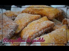 Rosquillas de pueblo, receta casera - Cocina familiar | Cocina familiar