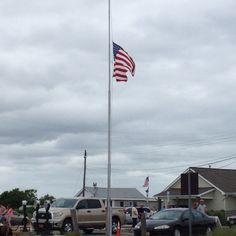Sunset Beach NJ Veteran's ceremony