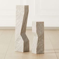 Natural volakas marble pillar carves out subtle-yet-sharp angles as it rises. -Handmade -Volakas marble -Each will be unique -Clean with soft cloth -Made in India Stainless Steel Mailbox, Marble Pillar, Cubicle Walls, Acrylic Photo Frames, Modern Sculpture, Metal Sculptures, Abstract Sculpture, Wood Sculpture, Bronze Sculpture