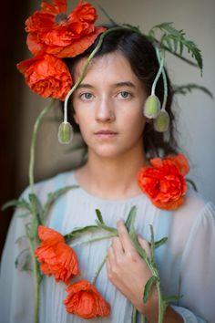 ❀ Flower Maiden Fantasy ❀ women & flowers in art fashion photography - Kristen Hatgi
