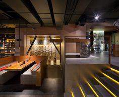 Modern design for EAST pan-asian restaurant | Kyiv, Ukraine