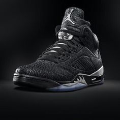 "Air Jordan Retro 5 Bred ""3Lab5"" Black Metallic/Silver  #bestsneakersever.com #sneakers #shoes #nike #airjordan #jordan5 #retro #bred #3lab5 #style #fashion"