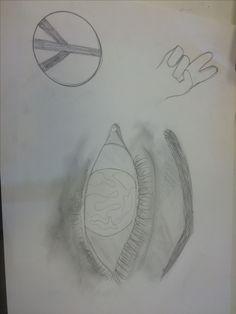 ik ben opnieuw begonnen met een nieuwe tekening, maar heb nu ook nieuwe dingen toegevoegd: peace tekens