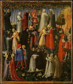 Paolo di Giovanni (Italian, 1398-1482 Siena Siena) Paradise