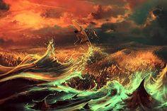 Digital Paintings by Cyril Rolando   Abduzeedo Design Inspiration