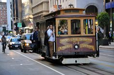 CleanTech Forum San Francisco 2014 - Classic Cable Car in San Francisco in this photo. See full photos in this flickr set.