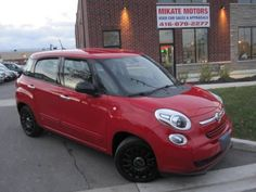 Still Brand New 2014 Fiat 500 L, ONLY 34000KM, Cert. with Full WRNTY (2090 Kipling Avenue Etobicoke) $11999