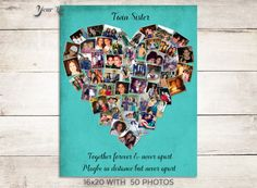 Twin Sister Gift Gift for sister Photo Collage by YourLifeMyDesign