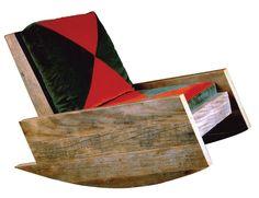 Cadeira de balanço Astúrias, 2002, de Carlos Motta