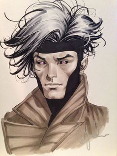 Gambit Art by David Yardin