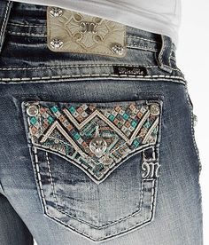 Miss Me Boot Stretch Jean - Women's Jeans | Buckle (pocket detail; have)