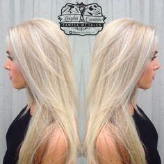 Ice blonde hair Instagram @mrssssstylist Facebook: Leigha Does Hair
