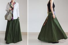 linen skirt - Google Search