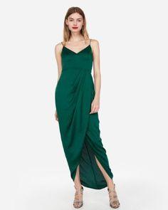d087a22bde0 55 Holiday Party Dresses Under  100 - Dani Thompson Faux Wrap Dress