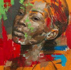 Portrait Painting-Lionel SMit- CUMULUS