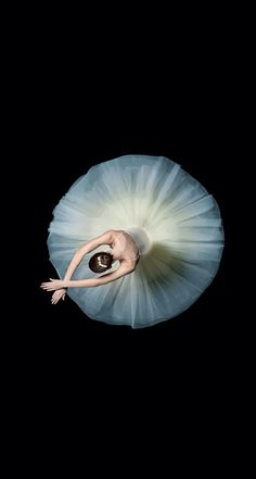 What a beautiful overhead shot of a ballet dancer with the white tutu in a perfect circle against the black floor. Shall We Dance, Just Dance, Karl Taylor, Anna Pavlova, Dance Like No One Is Watching, Ballet Photography, White Photography, Fashion Photography, Wedding Photography