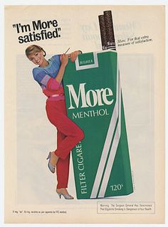 More cigarettes- the brand my great grandmother used to smoke :) Vintage Advertising Posters, Print Advertising, Advertising Campaign, Print Ads, Vintage Advertisements, Vintage Ads, Vintage Posters, Vintage Cigarette Ads, Cigarette Brands