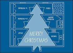 Holiday Blueprint (Glossy White) Draw out your plans this holiday season to include the Christmas Tree Blueprint Card that shows a Christmas tree drawing on a home interior blueprint. Corporate Christmas Cards, Create Christmas Cards, Christmas Card Template, Christmas Tree Themes, Holiday Greeting Cards, Xmas Cards, Christmas Crafts, Diy Holiday Gifts, Diy Gifts