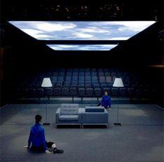 Shiro Takatani #drama #drama #stage Bühnen Design, Event Design, Set Design Theatre, Stage Design, Conception Scénique, Experimental Theatre, Dream School, Theatre Stage, Scenic Design