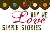 I think I'm going to use Simple Stories instead of Project Life.  Their products are so much cuter!!