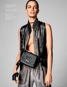 Travel Time: Rianne Ten Haken by Marc de Groot for Vogue Netherlands June 2016 - Louis Vuitton Spring 2016