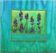 Lavender Garden is inspired by the lavender that grows in my garden