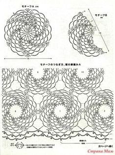 Best 11 How to Crochet a Solid Granny Square – SkillOfKing. Crochet Diagram, Filet Crochet, Crochet Motif, Crochet Shawl, Crochet Doilies, Crochet Flowers, Crochet Lace, Crochet Snowflake Pattern, Crochet Snowflakes