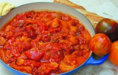 Old-Fashioned Stewed Tomatoes