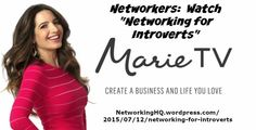 "Networkers! ~ New article, ""Networking for introverts"" on my ‪#‎Networking‬ Blog (designed not to sell, but to teach!). Something new about networking is posted every 4th day! More than 520 FREE Articles! Tell your friends by clicking ""SHARE."" ~ https://NetworkingHQ.wordpress.com/2015/07/12/networking-for-introverts  Two other Networking Hangouts:   http://www.TenCommitmentsofNetworking.com https://www.Facebook.com/NetworkingHeadquarters"