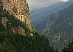 Sümela, The Monastery of the Virgin Mary, Trabzon, Turkey