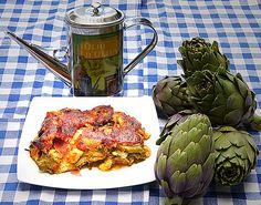 Artichoke parmigiana - Apulian Cooking - Puglia