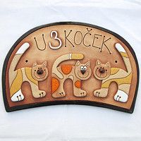 Turkish Design, House Numbers, Polymer Clay, Pottery, Creative, Wall, Templates, Wood, Craft