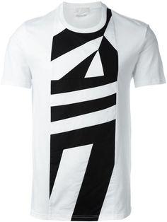 separation shoes ca2c8 02d21 ALEXANDER MCQUEEN Geometric Print T-Shirt. alexandermcqueen cloth t-shirt