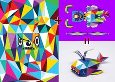 08AM X BEASTORY Collaboration art_2012 Bicof 15th by 08AM , via Behance