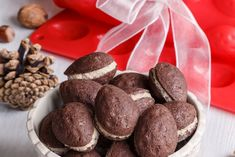 Sweet Recipes, Stuffed Mushrooms, Cookies, Chocolate, Vegetables, Food, Christmas Ideas, Cupcake, Decor