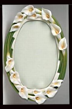 Ibis & Orchid Calla Lily Platter
