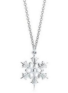 Tiffany & Co Attractive Snowflake Necklace