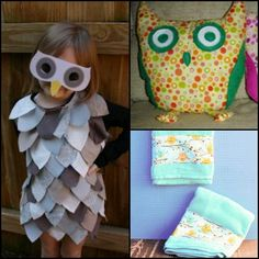 This collection of 13 Owl Craft Ideas includes easy sewing tutorials to help you join in on the owl craze. Owl crafts like these are whimsical, unique, and sure to bring a smile to any animal lover's face.